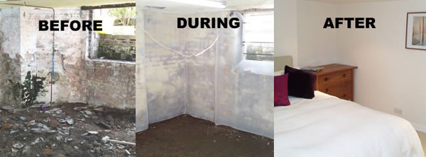 Tanking - Structural waterproofing d&proofing basement conversions cellar conversions across Shrewsbury Telford Oswestry Shropshire Chester ... & Tanking - Structural waterproofing dampproofing basement ...