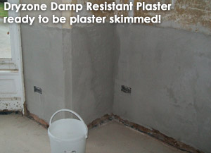 Breathable damp resistant plaster suitable for Heritage work