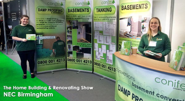 Damp proofing company - Basement conversion specialists, cellar tanking in Chester, Cheshire, Shrewsbury, Telford, Oswestry, Shropshire, Welshpool, Wrexham, Clwyd, Powys, Gwynedd, Ceredigion, Mid Wales and North Wales