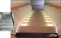 click for larger picture of basement conversion