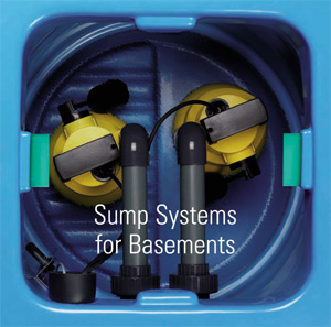 Sentry basement pump system
