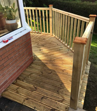 Image Galleries for Timber Decking Veranda