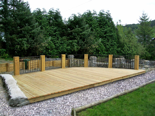 Timber decking services garden decking decking for Garden decking companies