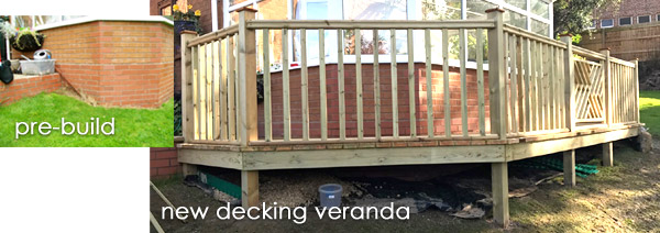 Timber Decking Shrewsbury