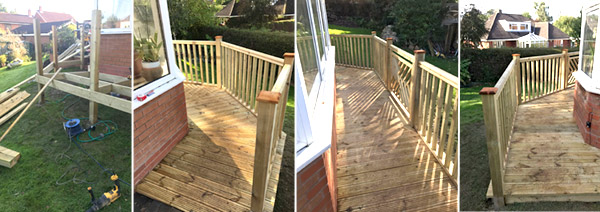 Timber Decking Installation